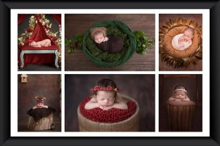 Shipra & Amit Chhabra Children Photography Delhi - Collages